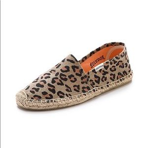 Soludos - Flat Leopard Print Espadrilles